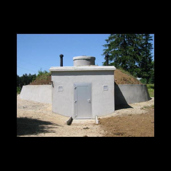 Réservoir d'eau potable à Cerneux Monnots