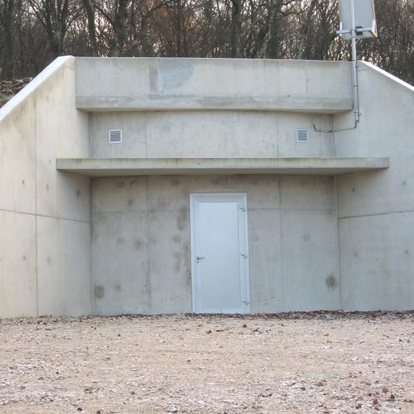 Réservoir d'eau potable Torpes